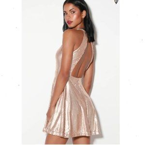Lulu sequin skater dress Brand New with tags!